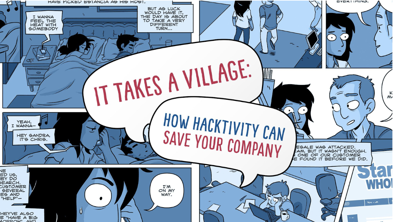 Atlantic Council - It Takes A Village Comic
