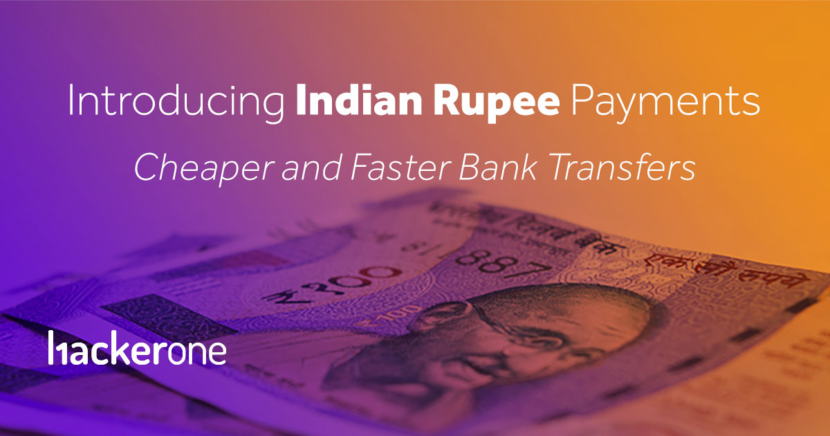 Introducing Indian Rupee Payments