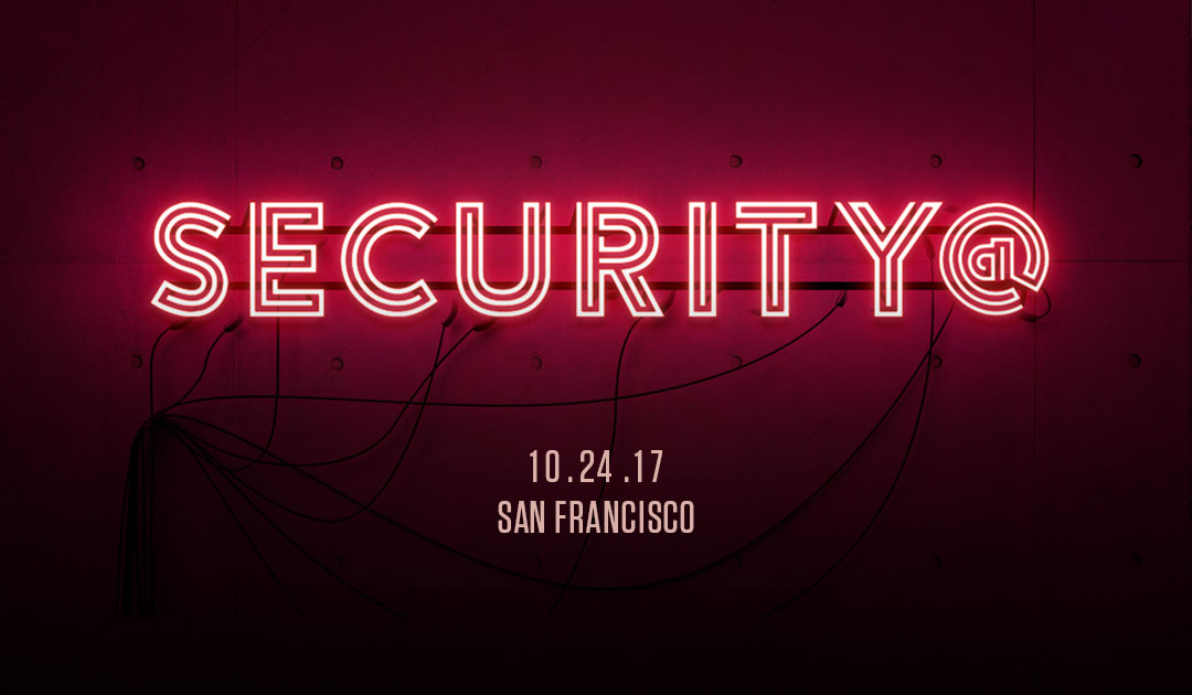 Security@ San Francisco - Neon Red