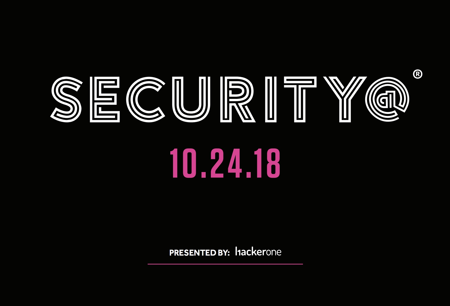 Security@ San Francisco 2018