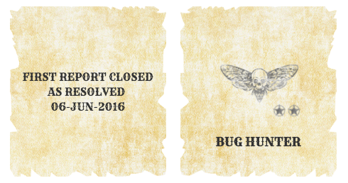 Bug Hunter Badge