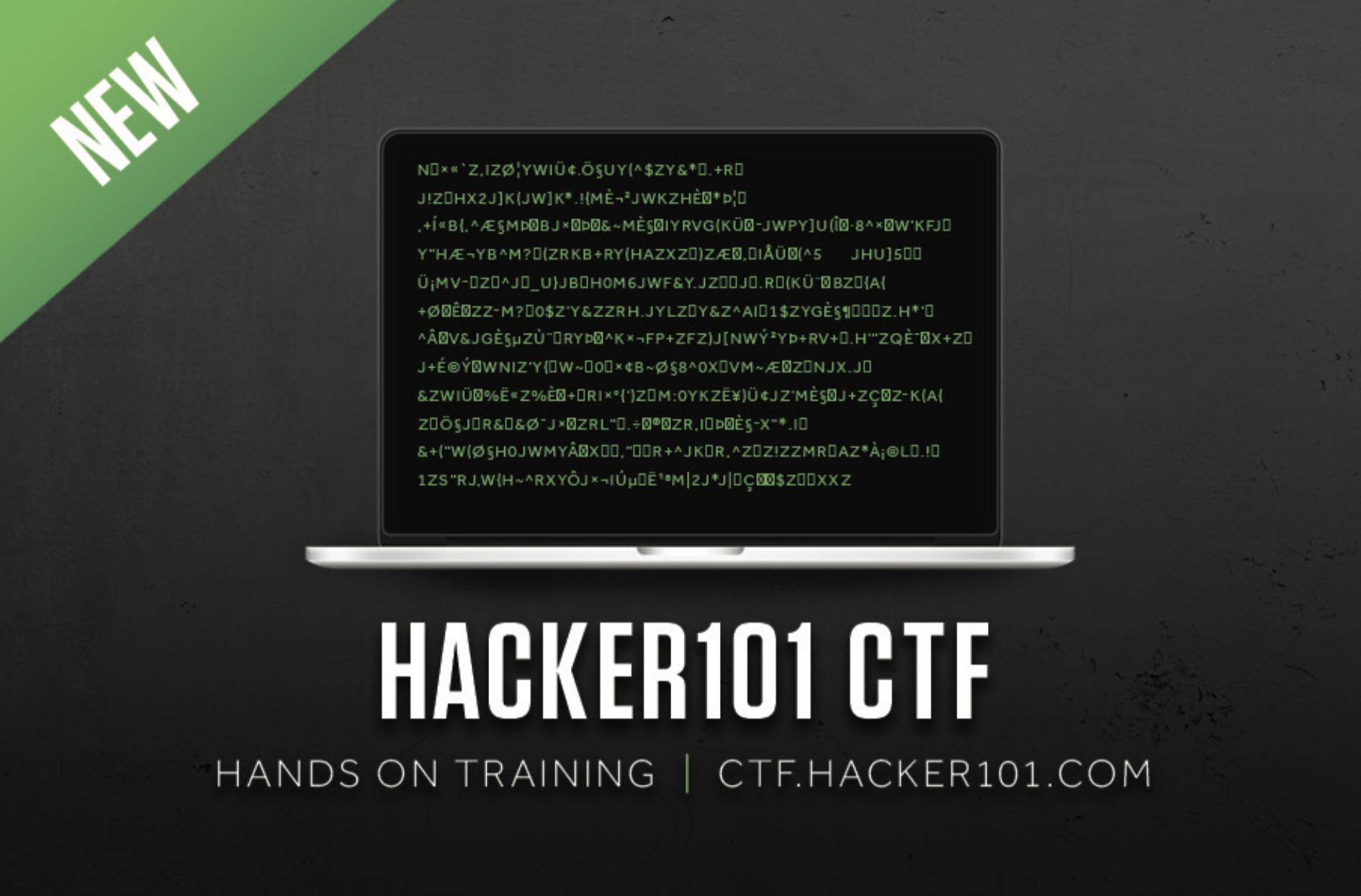 Introducing the Hacker101 CTF   HackerOne