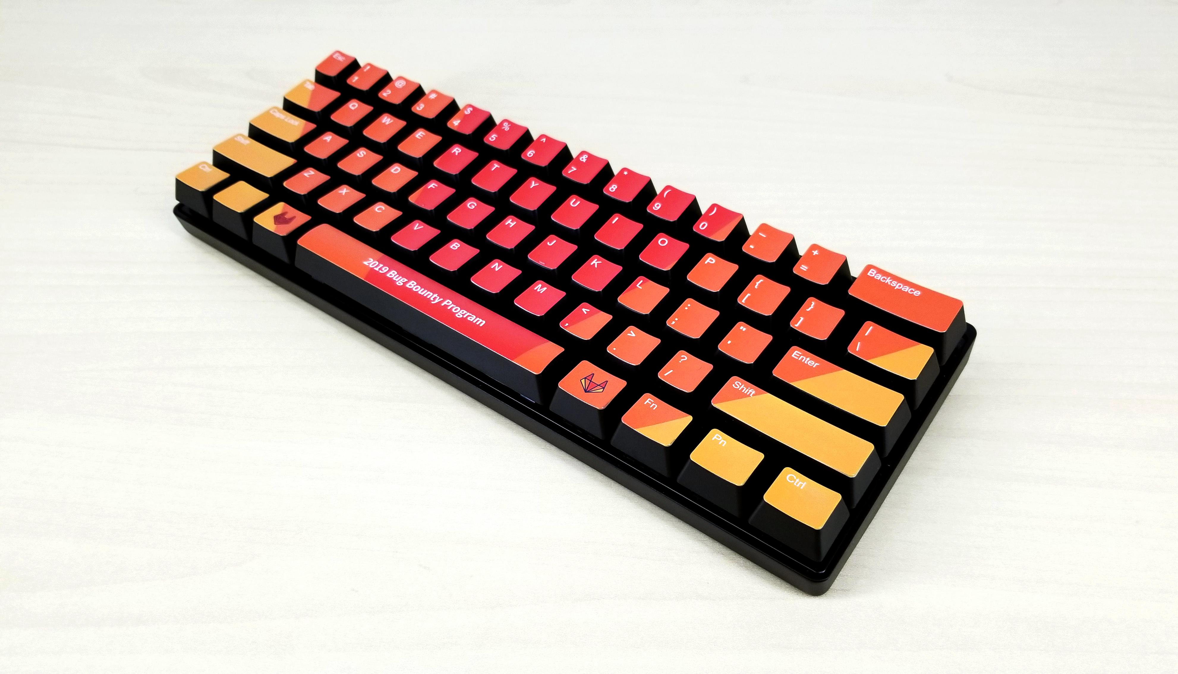 GitLab mechanical keyboard 1