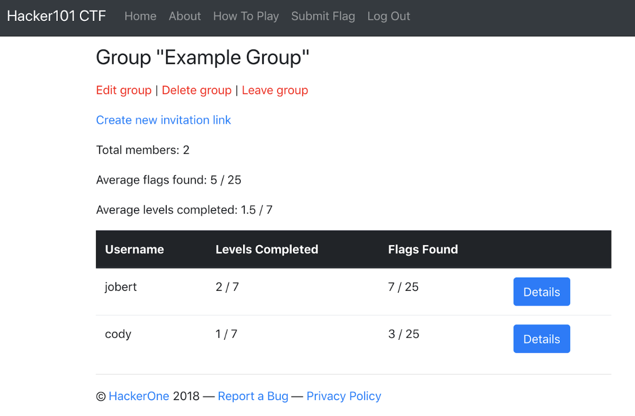 Hacker101 CTF++: Find flags, get private bug bounty program