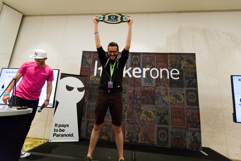 Hacker wins the Most Valuable Hacker belt