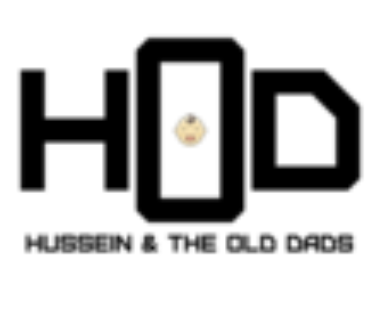 hussein and the old dads logo