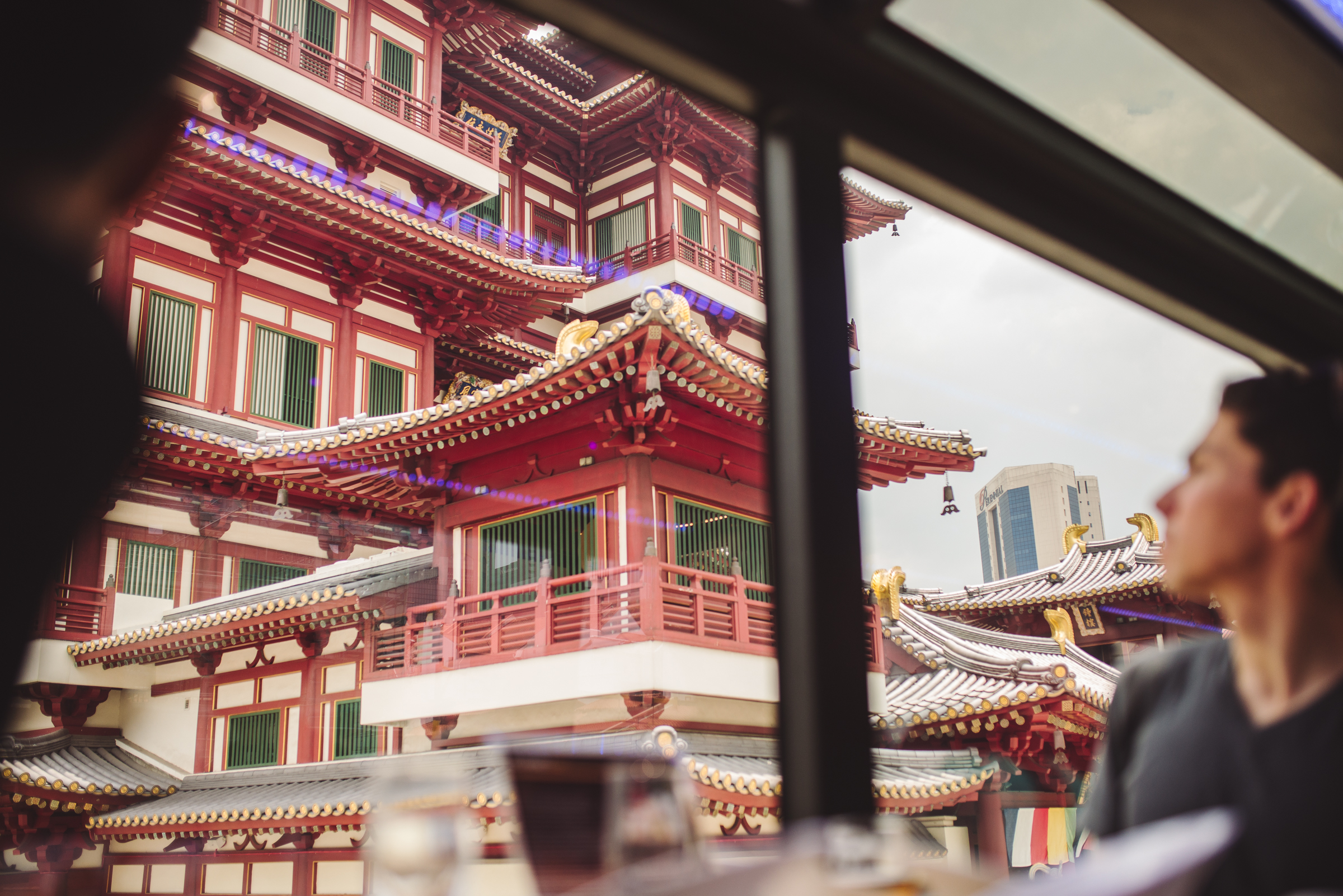 Singapore Chinatown Gourmet Bus Tour
