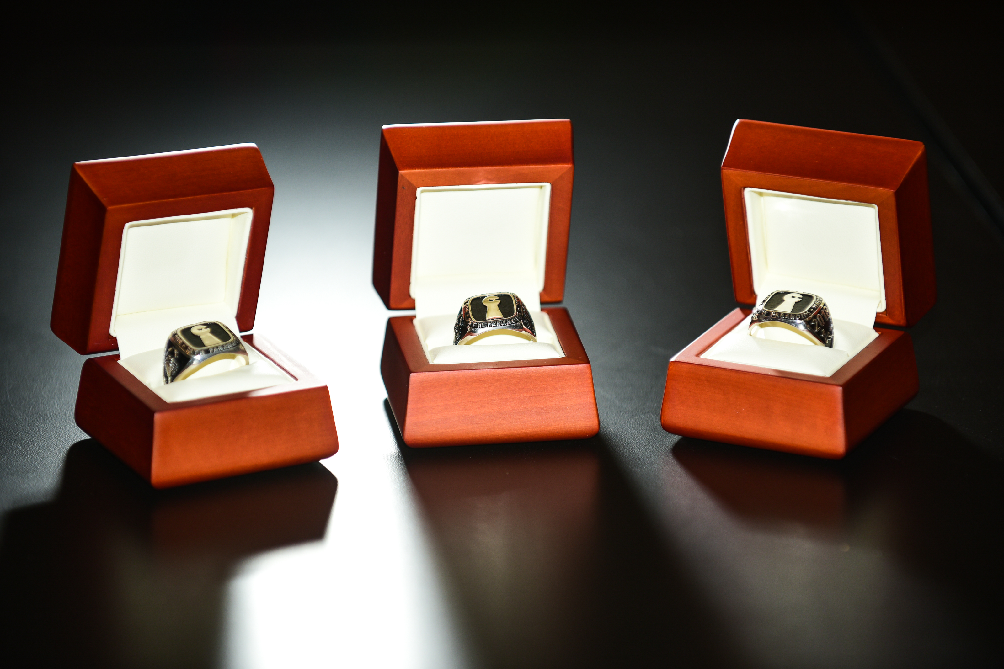 Oath's custom-made h1-212 champion rings